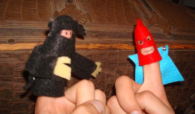 Ninja Vs. Luchador