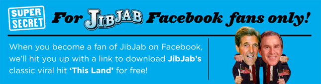 facebook exclusive free download of this land the jibjab blog