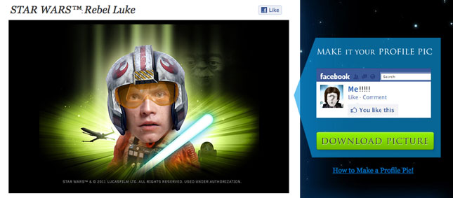 Star Wars Starring You Profile Pics! « The JibJab Blog