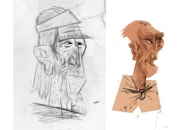 Pilgrim Sketch