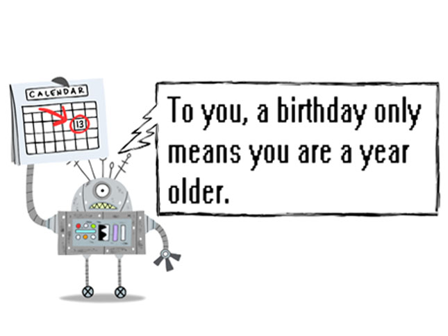 New Birthday Card Robo Years The JibJab Blog – Jibjab Birthday Card