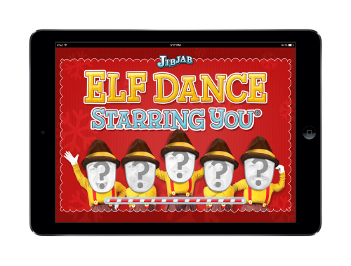Elf Dance home screen